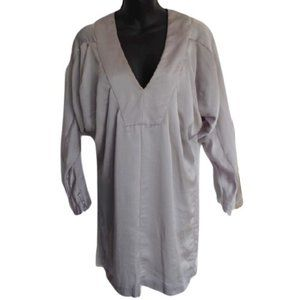 "French Connection ""Silver Grey"" Tunic NWT- Sz. 4"